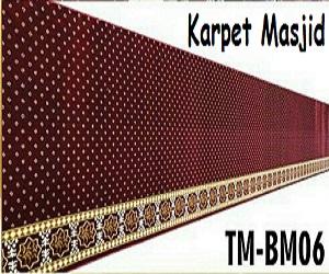 Karpet Masjid Polos permeter
