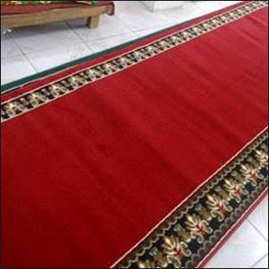 harga karpet masjid per meter